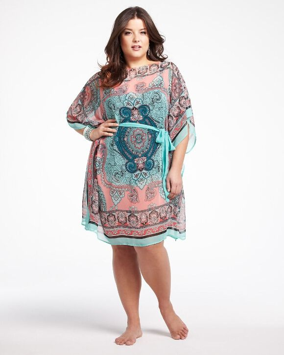 Scarf Print Cover Up Dress Collection I Want This Pinterest