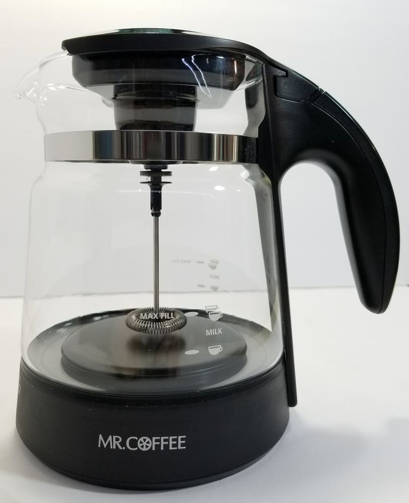 Mr. Coffee BVMC-EL1 Replacement Cafe Latte Pitcher Carafe ...