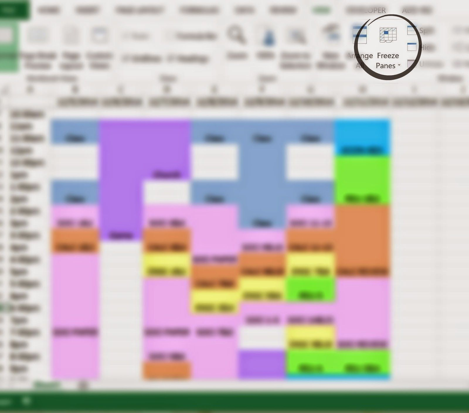 How To Make A Finals Study Schedule With Microsoft Excel Study