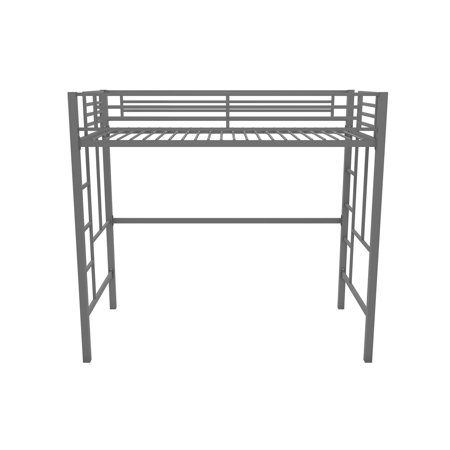 Yourzone Metal Loft Bed Twin Size Multiple Colors Image