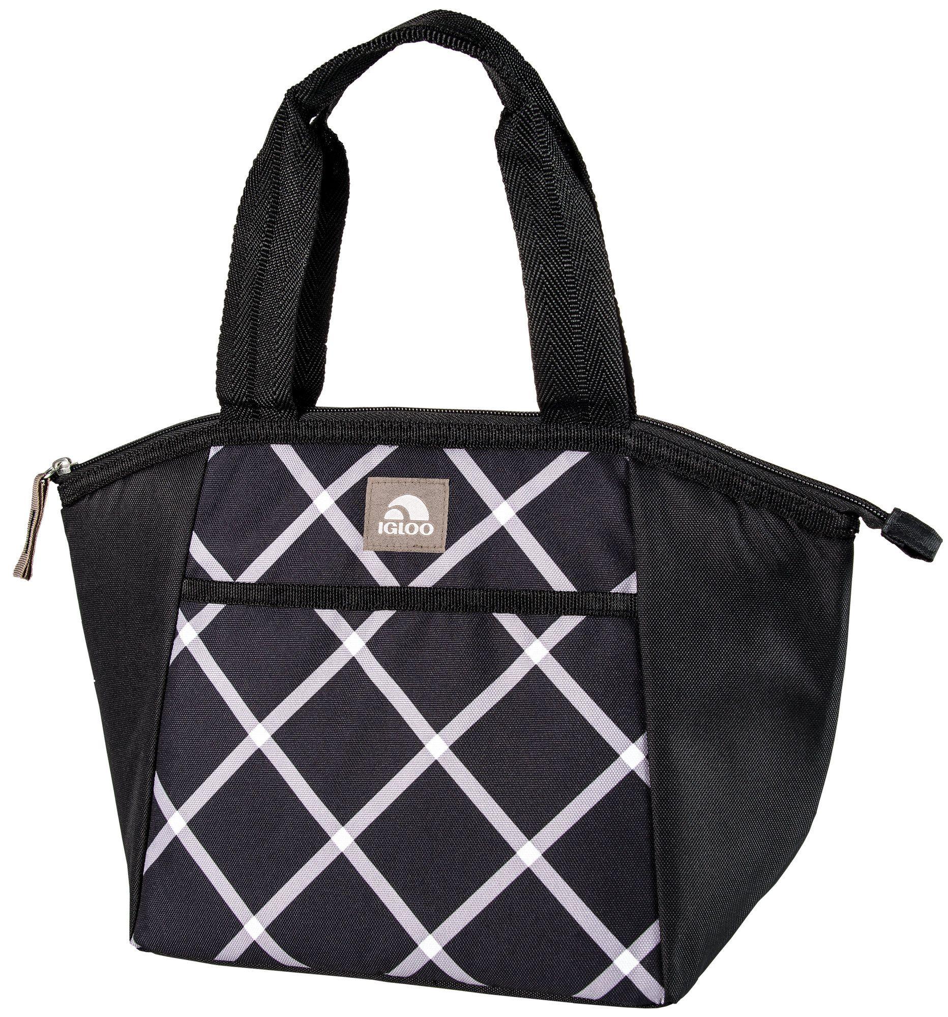 Essential Plaid Lunch Bag