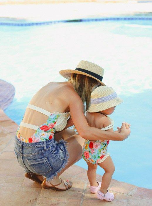 86b83c3741 Father's Day Fun Day   Mommy-daughter, daddy-son   Vestidos de baño ...