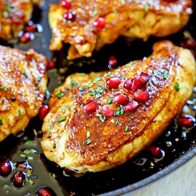 jordanian roasted chicken with pomegranate molasses gets a rub of cardamom and sumac under the on hebbar s kitchen chicken recipes id=83056