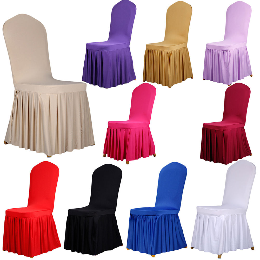 chiavari chair covers ebay cover express holland mi 9 99 dining room wedding banquet stretch pleated pendulum seat home garden