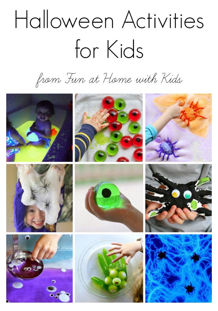Easy Halloween Activities for Kids   Slime, Easy and Activities