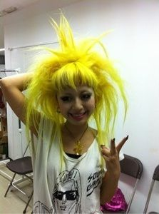 Punk Yellow Hair Ghdcandy