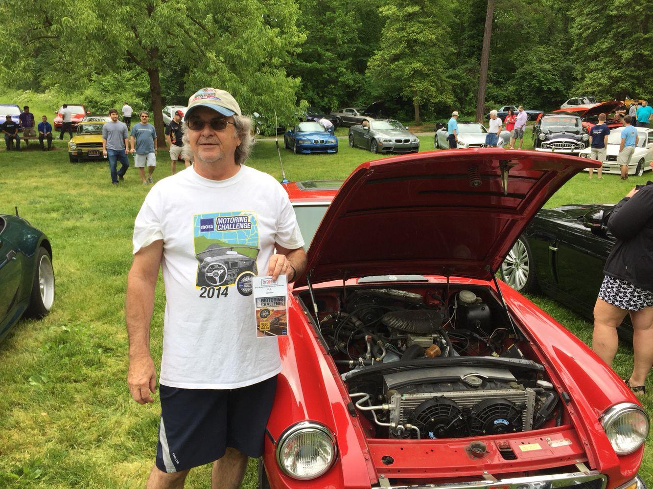Cars and coffee Renolda village Winston-Salem North Carolina