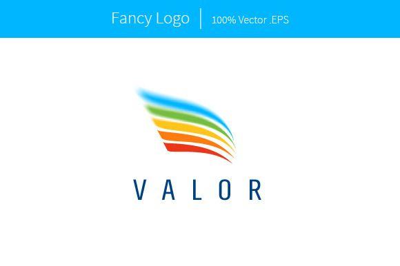 fancy logo template by kilik on creative market logo templates