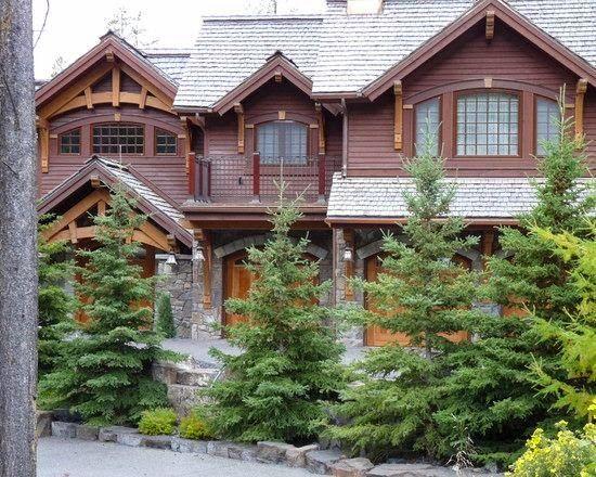 Fachadas de casas Rusticas - 5 fachadas exteriores Pinterest