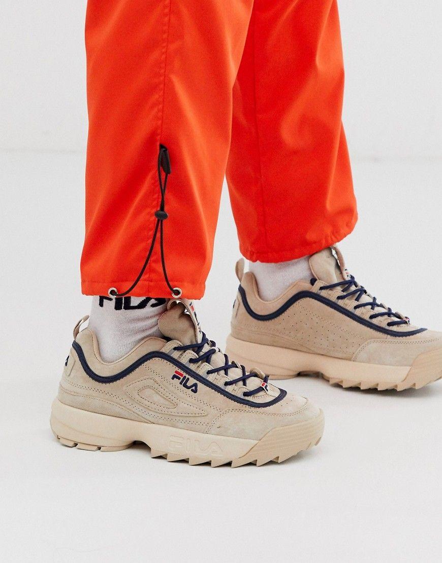 Fila Disruptor Lux Sneakers In Sand