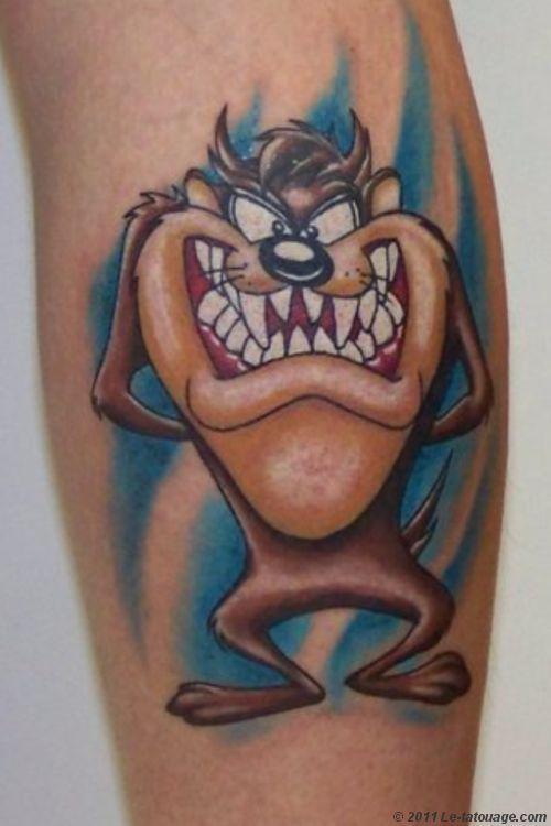 Pin On Taz Tattoo Designs
