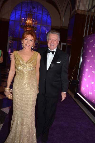 Joy Philbin and Regis Philbin.  photo by:  rose billings