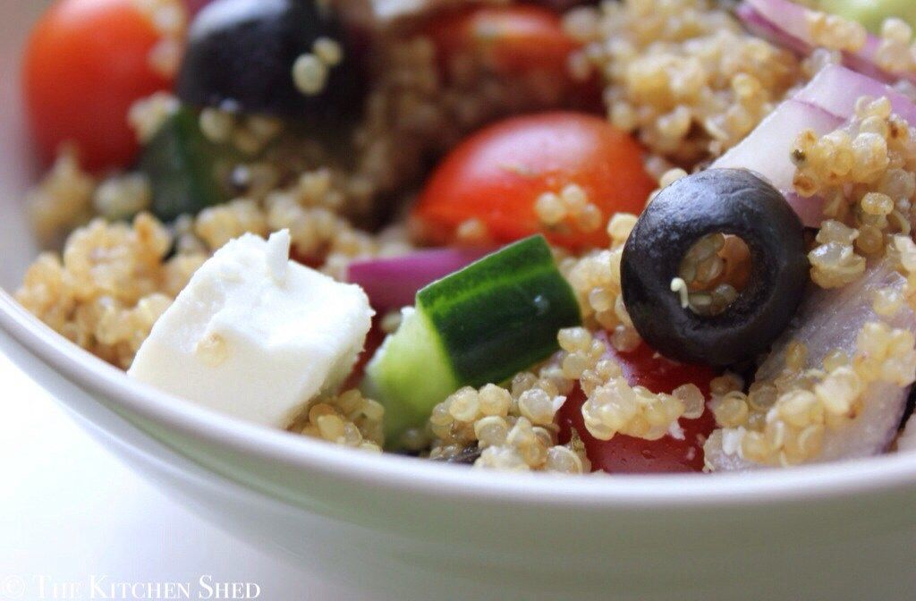 Clean Eating Greek Quinoa Salad