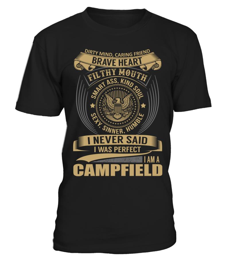 CAMPFIELD - I Nerver Said