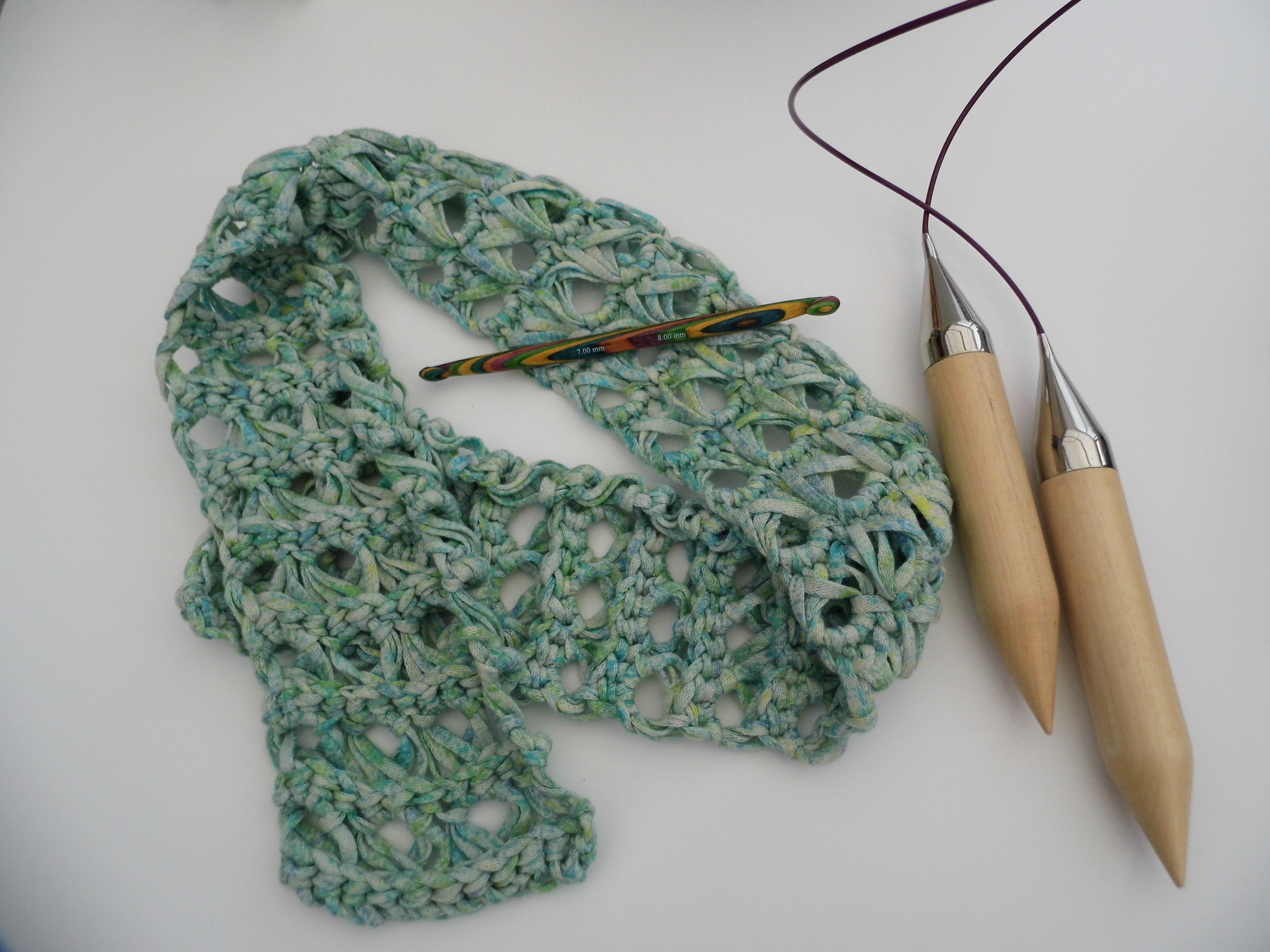 Quick broomstick lace summer scarf broomstick lace summer quick broomstick lace summer scarf lace crochet patternsscarf bankloansurffo Image collections