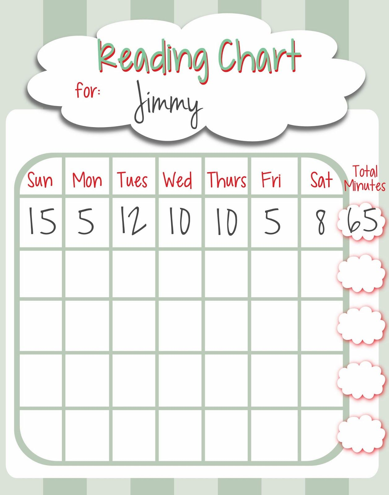picture regarding Printable Reading Chart named Cost-free Printable Reading through Chart for Small children Small children Examining