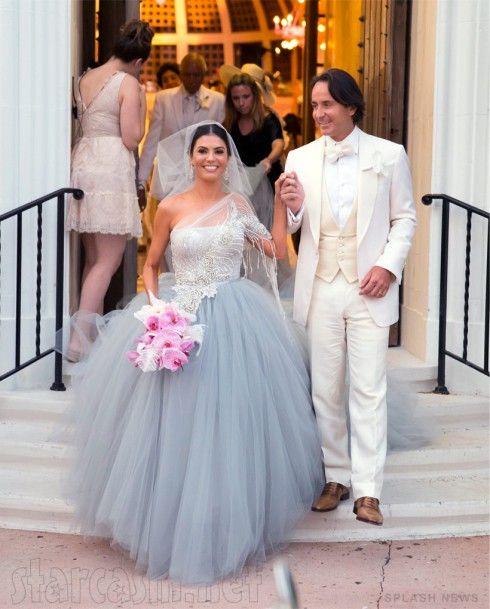 Adriana De Moura Wedding Photos Nontraditional Wedding Dress