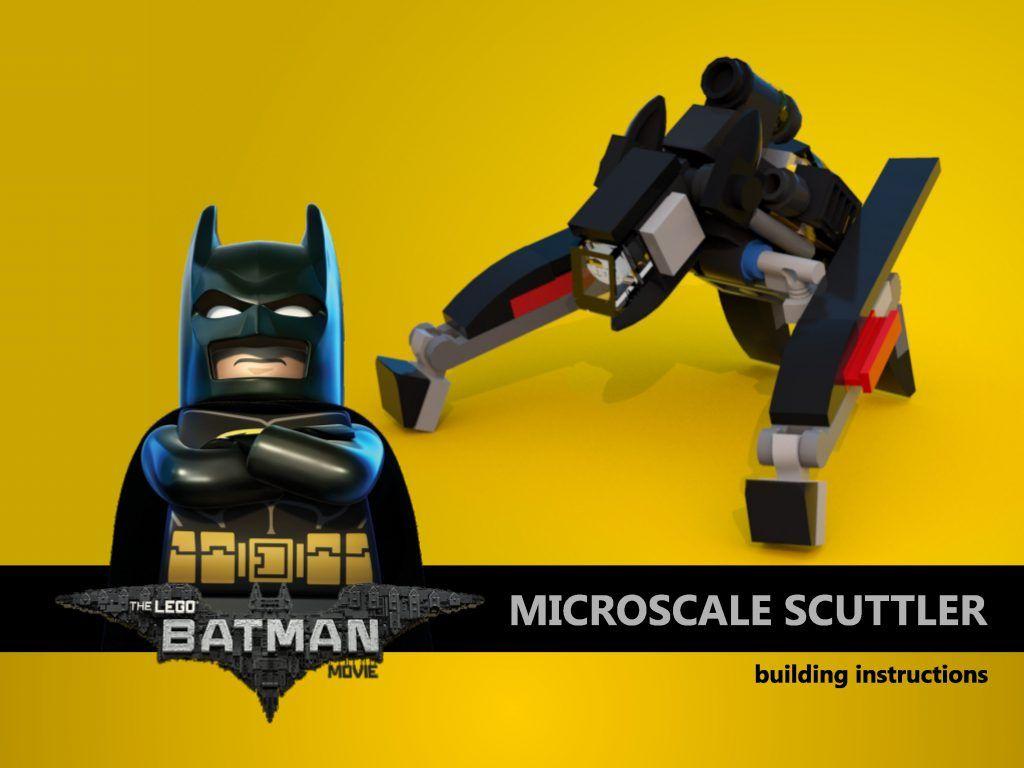 mini lego batmobile instructions