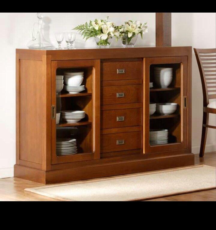 Bufetera kitchen cabinet muebles de comedor mueble for Mueble buffet