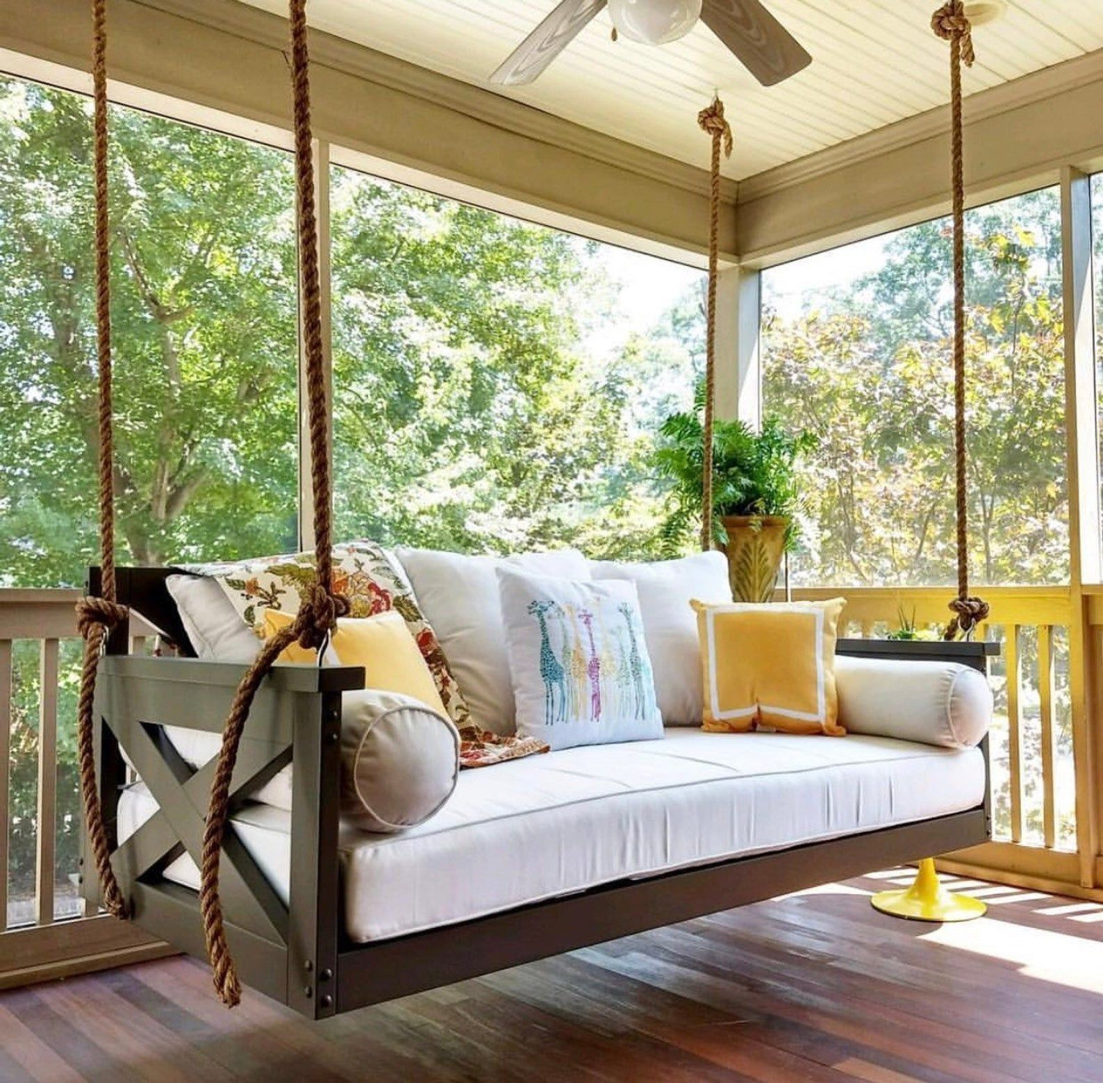 "Indoor/Outdoor Swing The ""Modified Cooper River"" Swing"