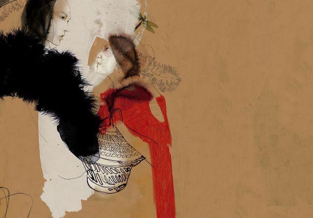 """Little Red Riding Hood"" by Daniel Egnéus Fashion Illustration"