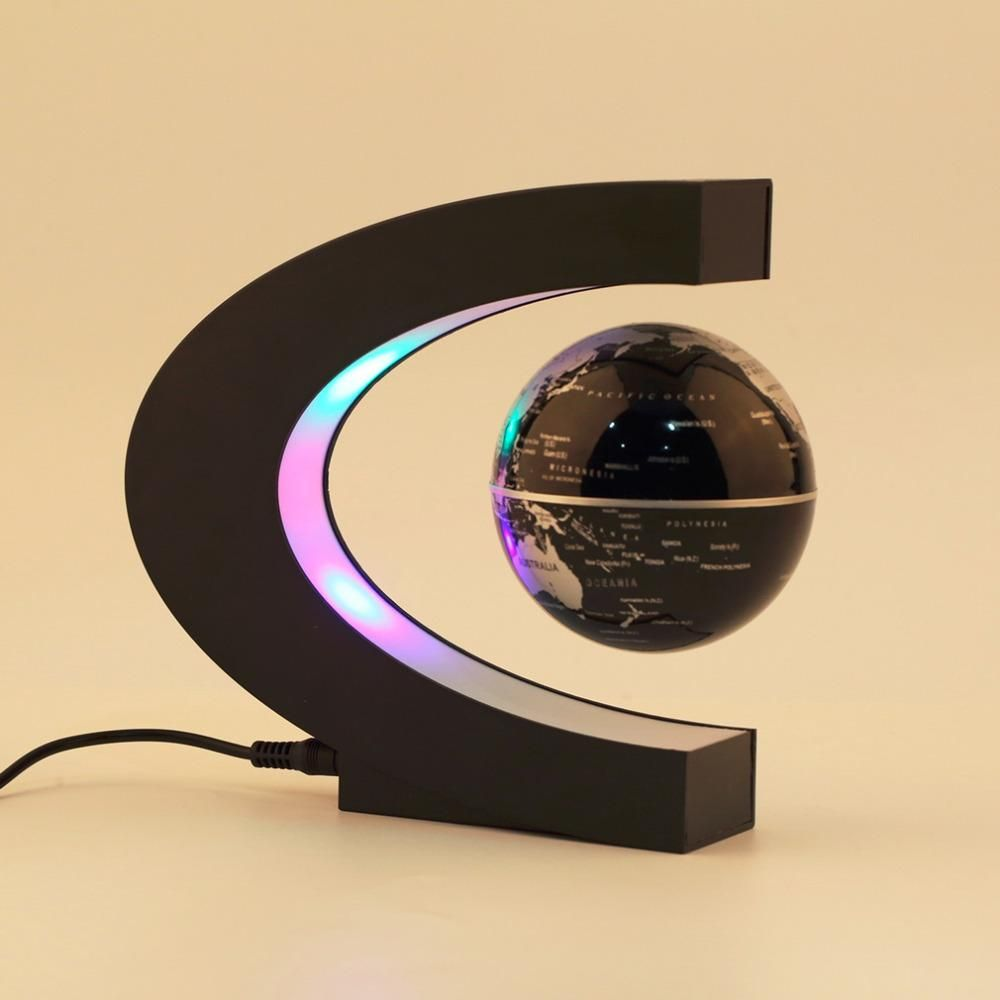 Levitation From Lns Technologies: Electronic Magnetic Levitation Floating Globe Antigravity