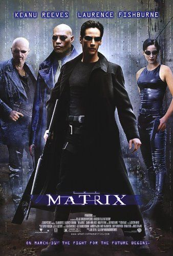 The Matrix Poster 27x40 Keanu Reeves Carrie-Anne Moss Laurence Larry Fishburne Poster Print, 27x39 postersdepeliculas http://www.amazon.com/dp/B0015T8SR2/ref=cm_sw_r_pi_dp_8feTtb12BB50S8S8