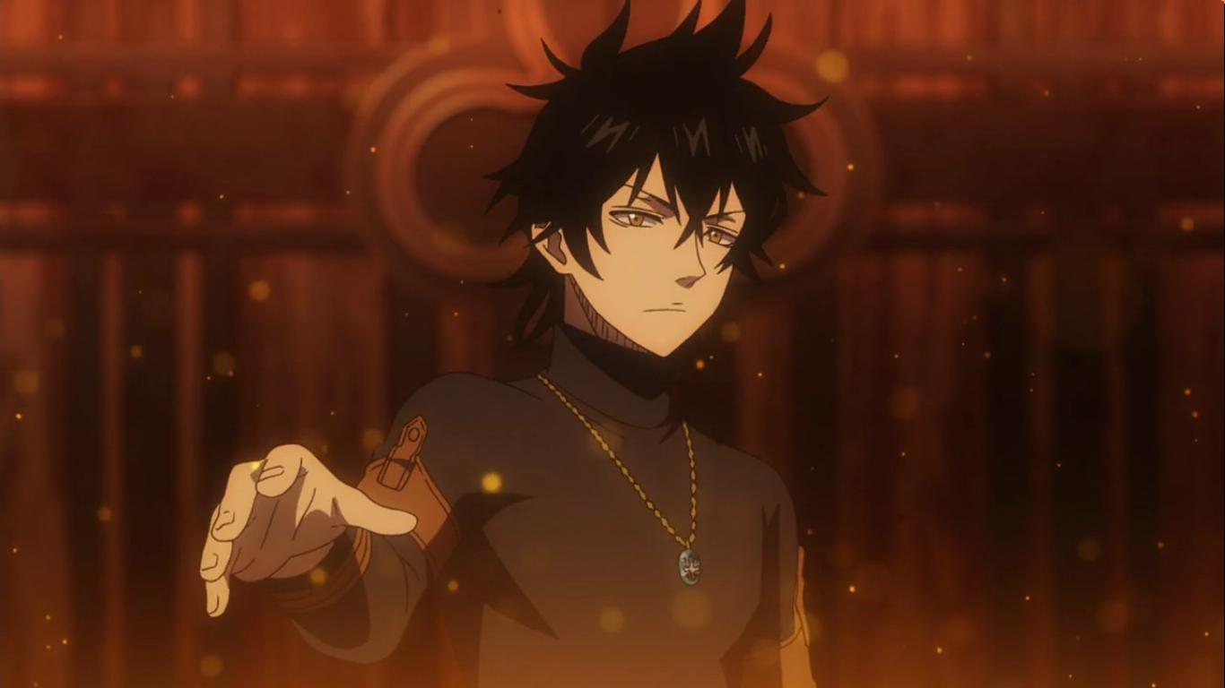 Black_Clover screenshot episode_1 Yuno Black clover