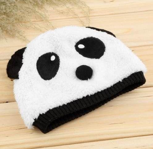 Gorro Y Bufanda Bebe Niño Niña Unisex Cute Kawaii Panda Set ... 84f0d78688d