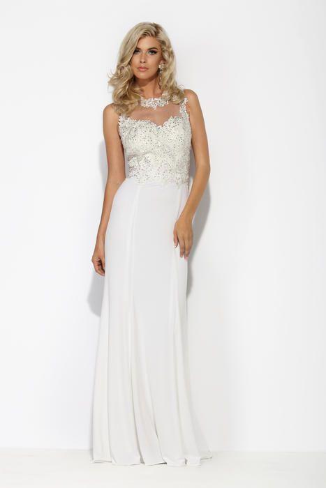 White and Ivory Dresses Jolene by Josh and Jazz 15016 Jolene Prom ...