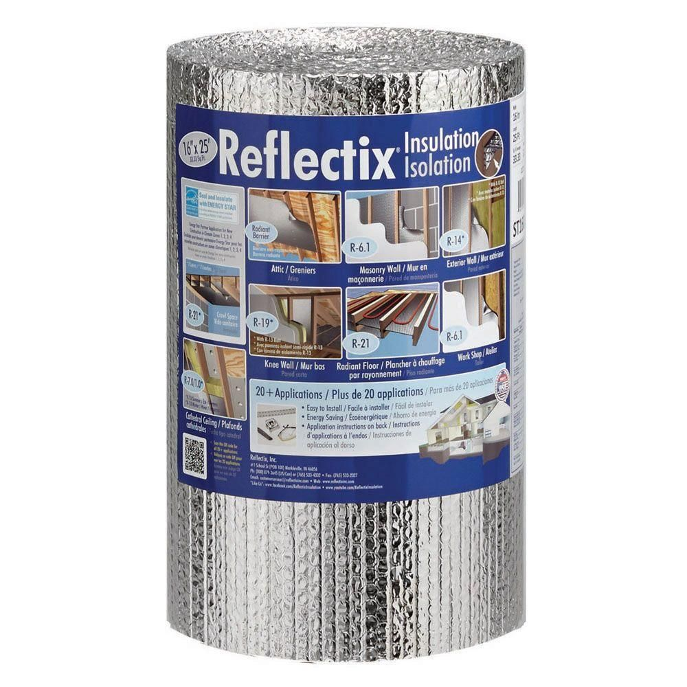 Reflectix 16 in. x 25 ft. Double Reflective Insulation