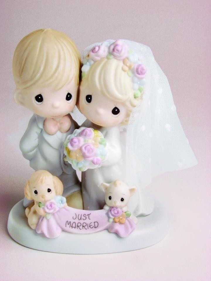 Just Married Precious Moments Wedding Precious Moments Quotes Precious Moments Figurines