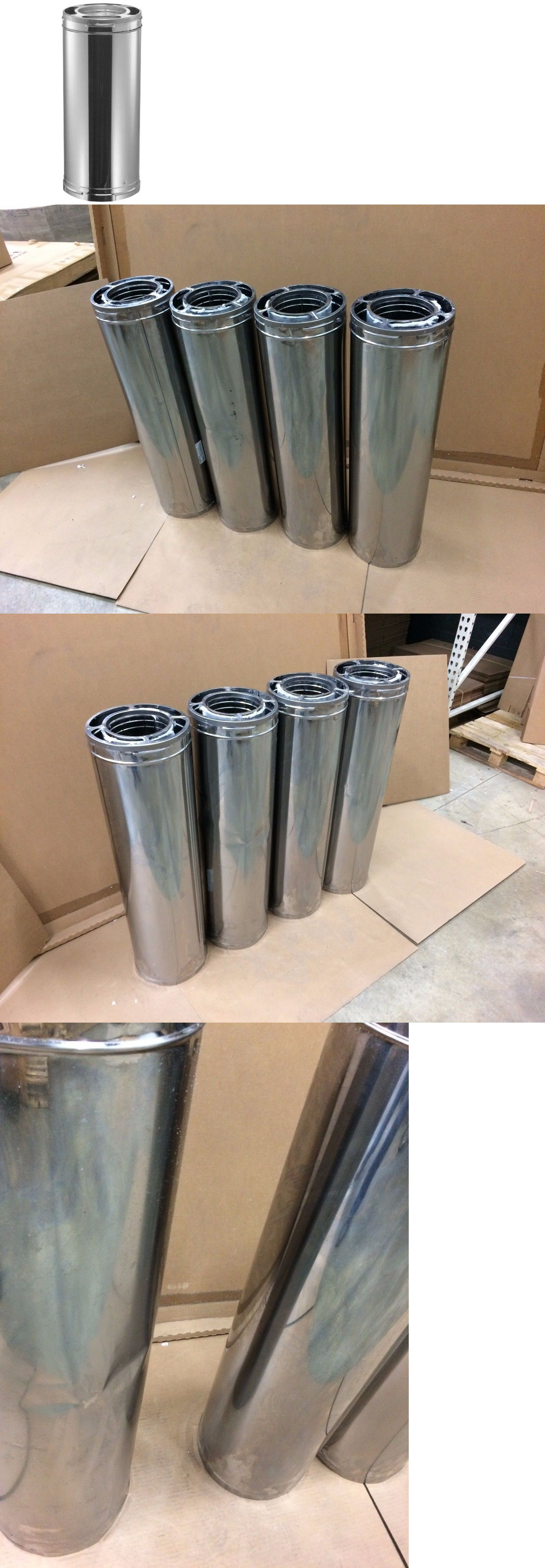Stove and Chimney Pipes 175803: 6 Duraplus Stainless Steel Chimney ...