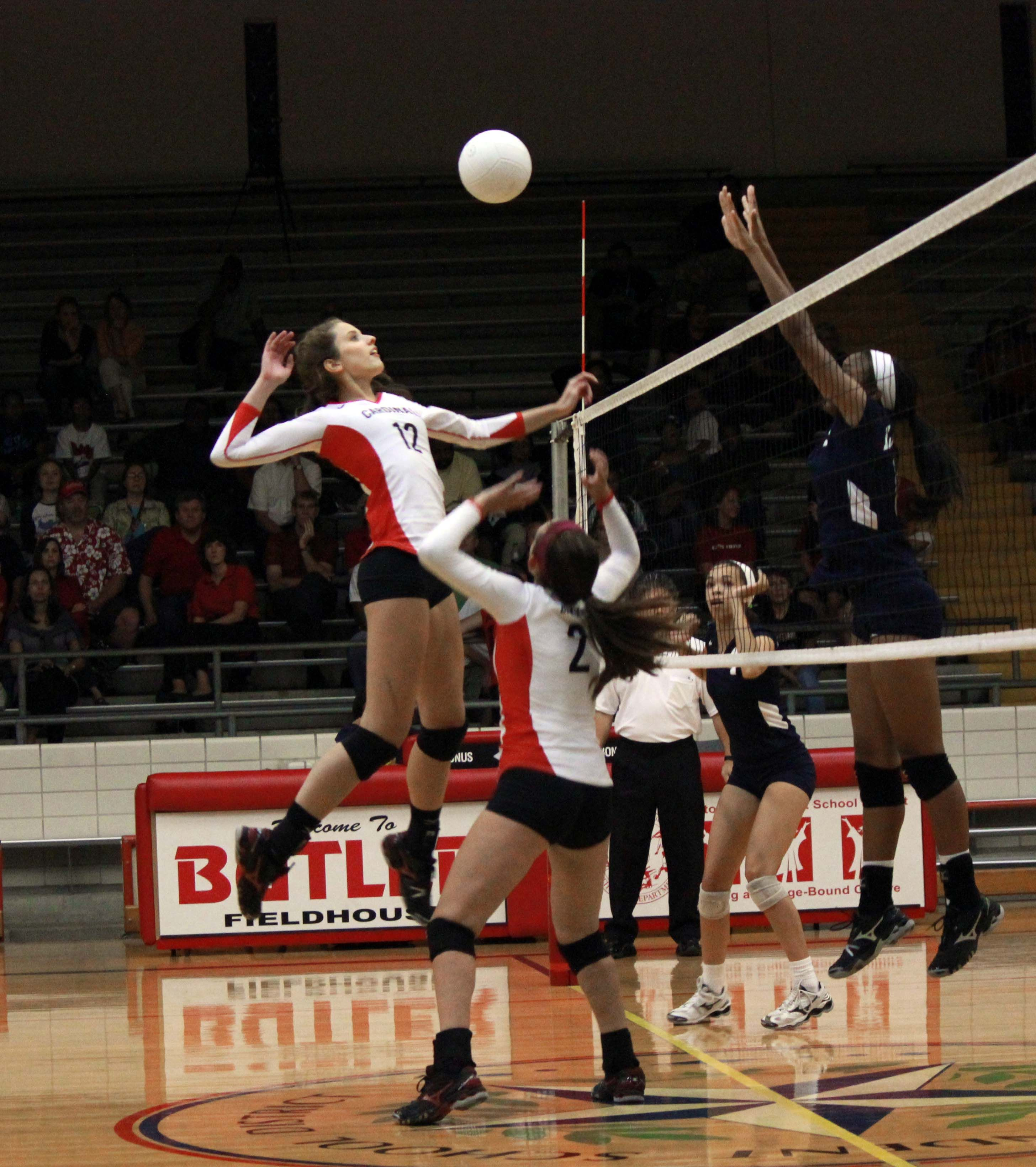 Sports, Volleyball, Stop action, Rule of Thirds. Bellaire