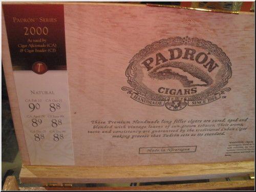 El Fumador Padron 2000 $101.95