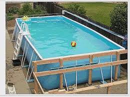 Risultati immagini per habillage piscine hors sol intex Habillage piscine hors sol