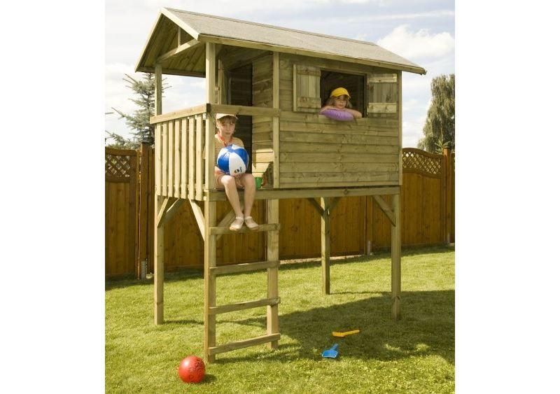 casetta da giardino su palafitta per bambini foto 1