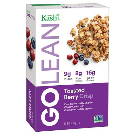 Kashi GoLean Crisp! Toasted Berry Crumble Breakfast Cereal