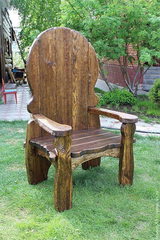 загадочная необычные стул трон из дерева фото известные игрушки этом