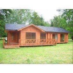 Casa prefabricada 120 metros cuadrados planos de la casa - Casas rurales prefabricadas ...