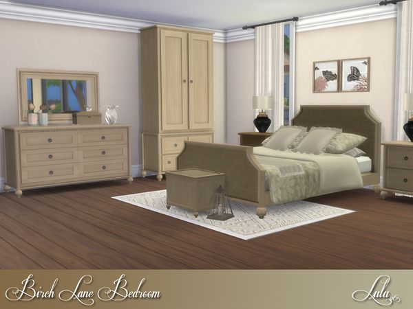 Lulu265\u0027s Birch Lane Bedroom The Sims 4 Love Pinterest Birch - Lane Bedroom Furniture