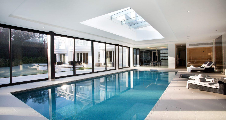 Indoor Swimming Pool Design & Construction | Falcon Pools
