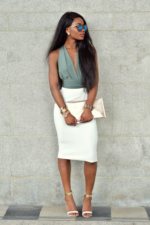 8e07154db7 Best Ways To Wear Pencil Skirt 2019 #womensfashion #springsummer2019 #ss19 # pencilskirt #cream #skirt #officewear #proffesional #workwear #chic