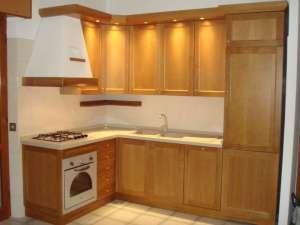Bancone In Legno Costruito Artigianalmente : Cucina artigianale su misura a roma con struttura in listellare e
