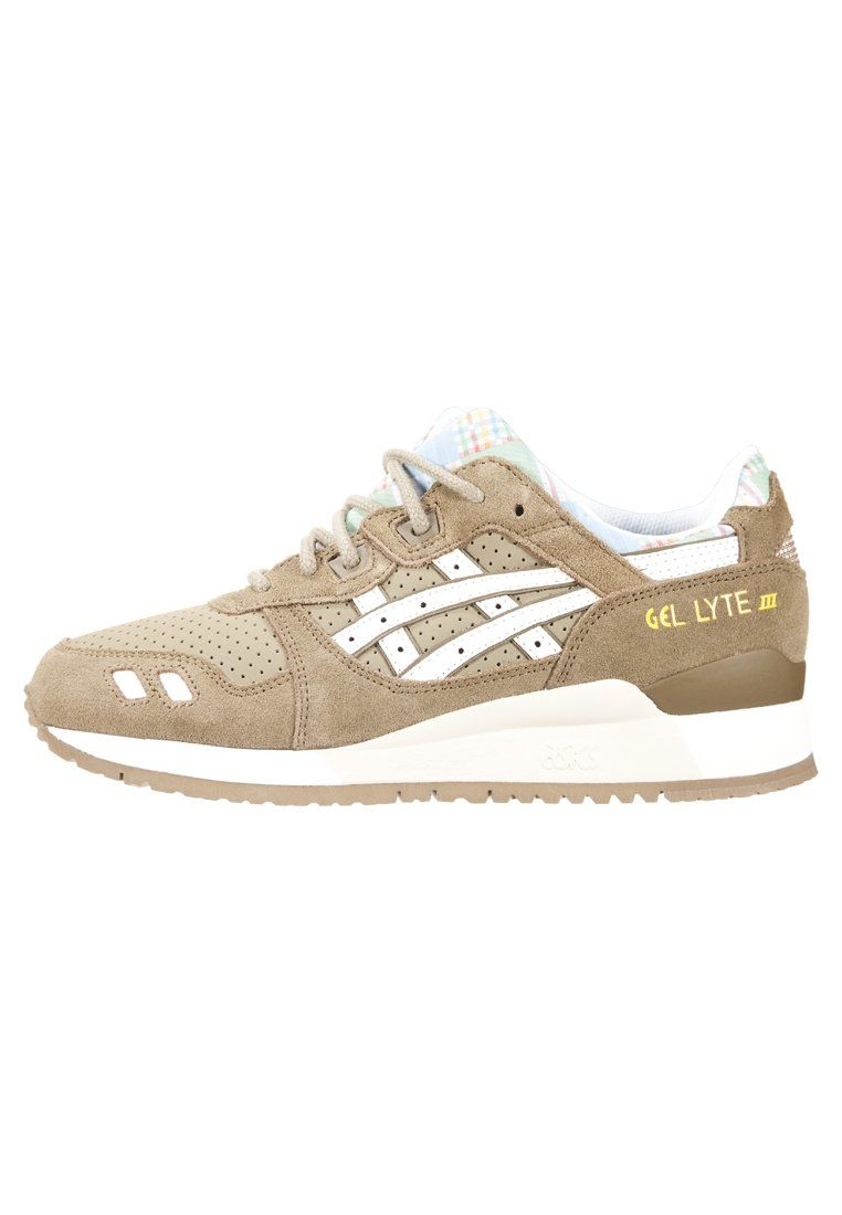sports shoes e805f 76fa5 GEL-LYTE III - Sneakers laag - vert olive/blanc @ Zalando.nl ...