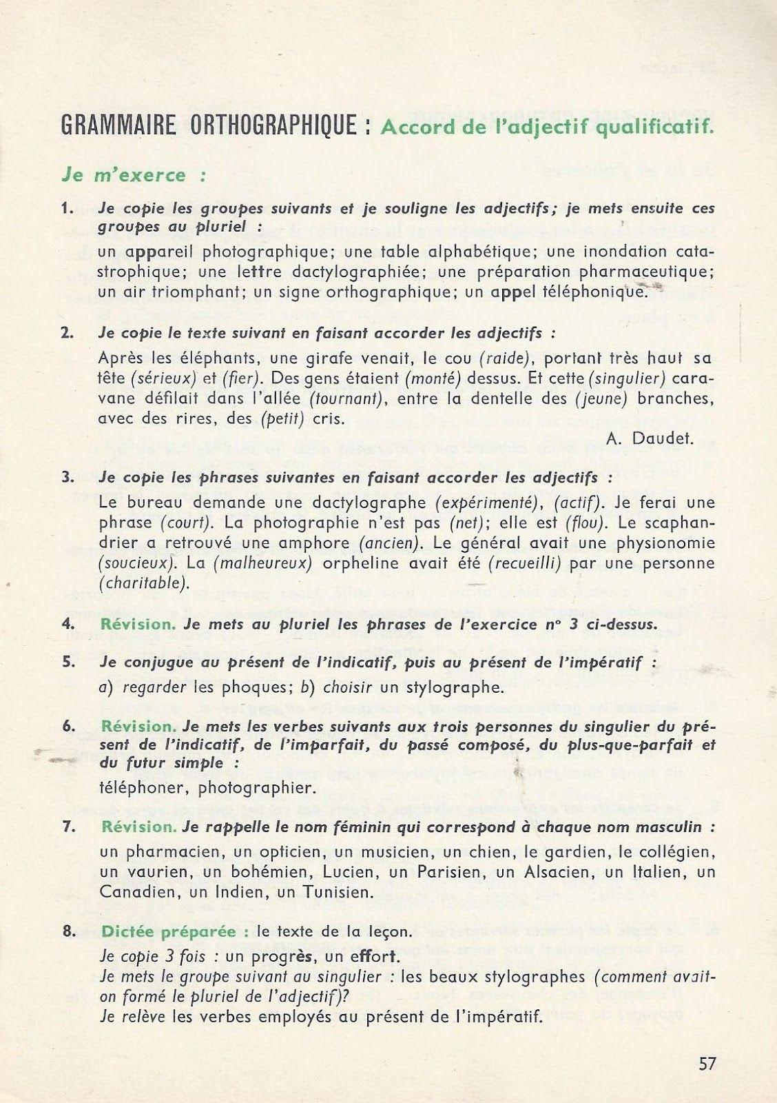 P Deneve L Orthographe Methodique Ce2 1962 Orthographe Orthographe Ce1 Ce2