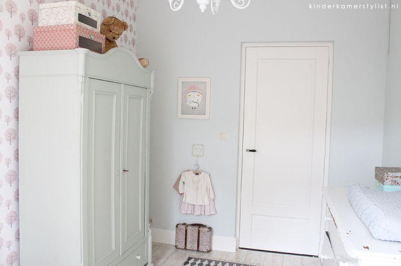 Behang Babykamer Romantisch : Romantisch kinderkamer en babykamer inspiratie kamer mado