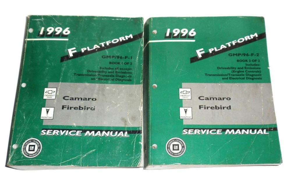 1996 chevrolet camaro pontiac firebird service manual f platform rh pinterest com Kia Factory Workshop Service Manual Factory Auto Repair Manual
