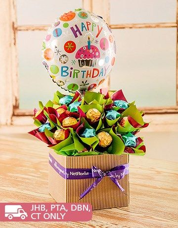 Say Happy Birthday With This Delectable Chocolate Edible Arrangement