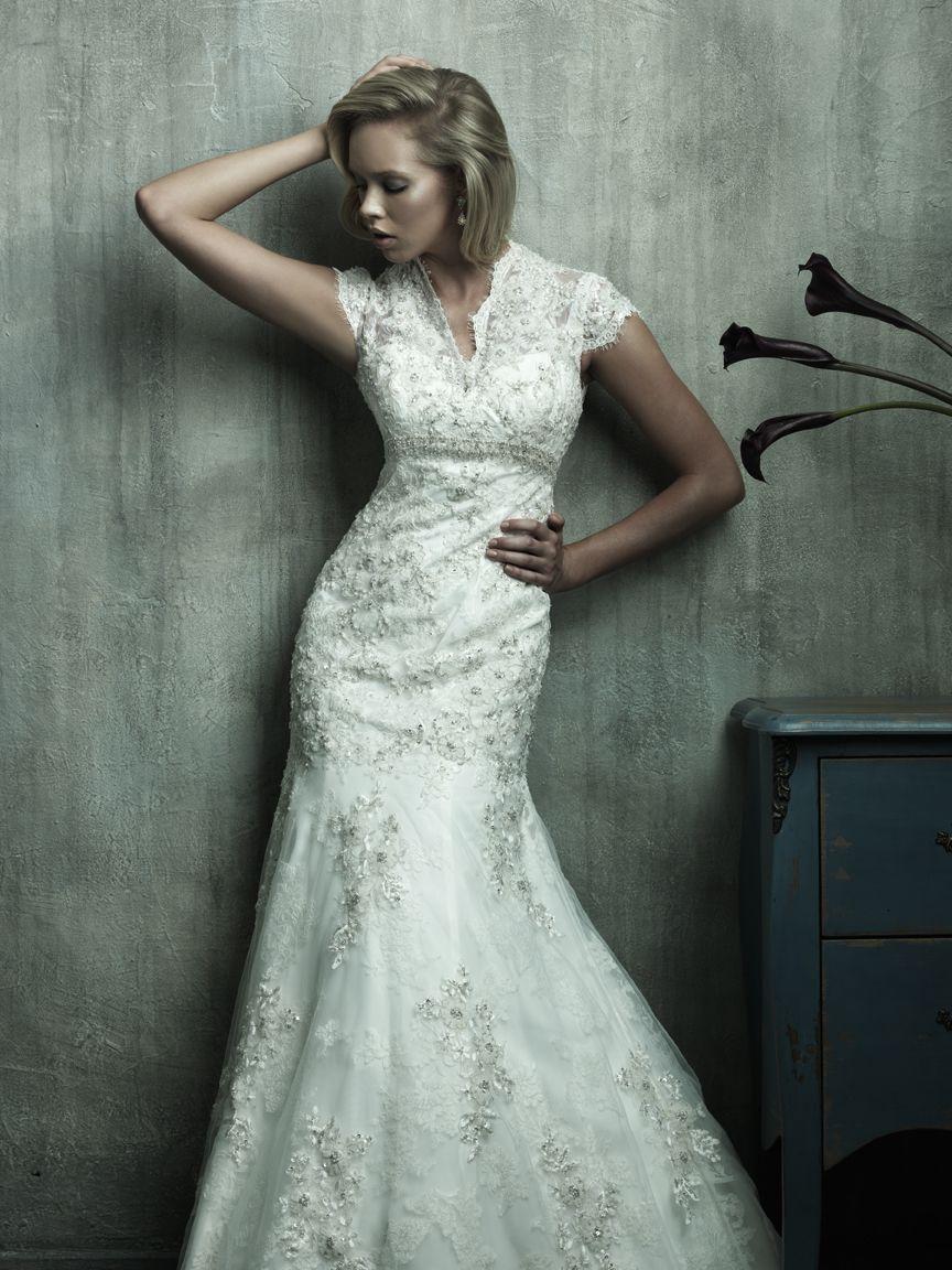 Lace Silhouette Wedding Wedding Dresses Wedding Wedding Gowns
